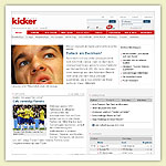 Kicker.de Relaunch