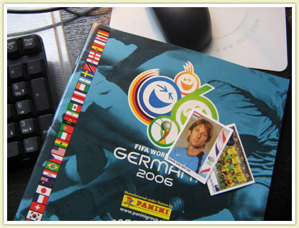 Panini Worldcup Sticker Album 2006